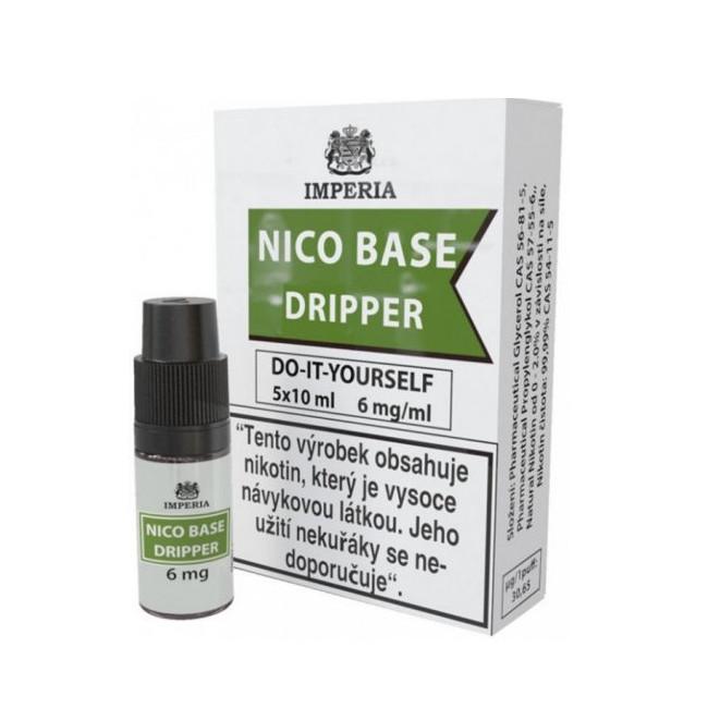 obrázek Nico base dripper 5 x 10 ml 6 mg/ml
