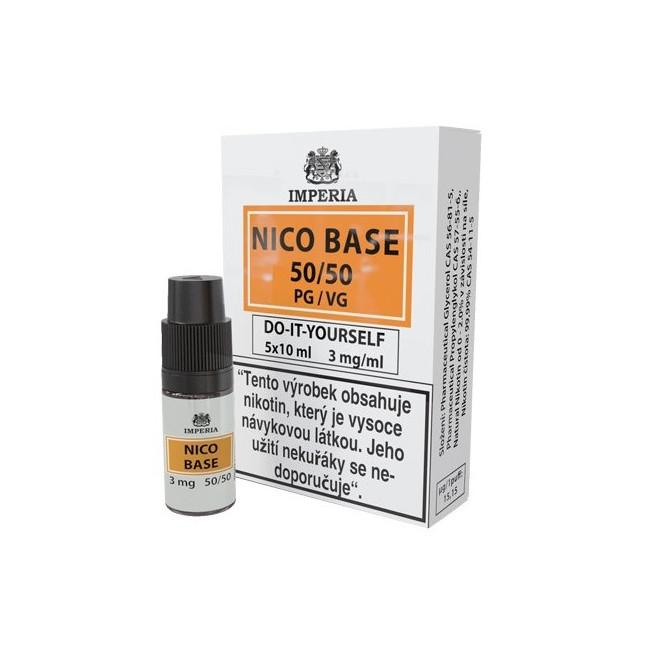obrázek Nico base 5 x 10 ml 3 mg/ml