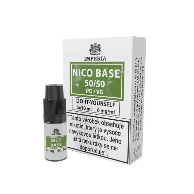 obrázek Nico base 5 x 10 ml 6 mg/ml