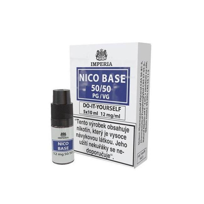 obrázek Nico base 5 x 10 ml 12 mg/ml