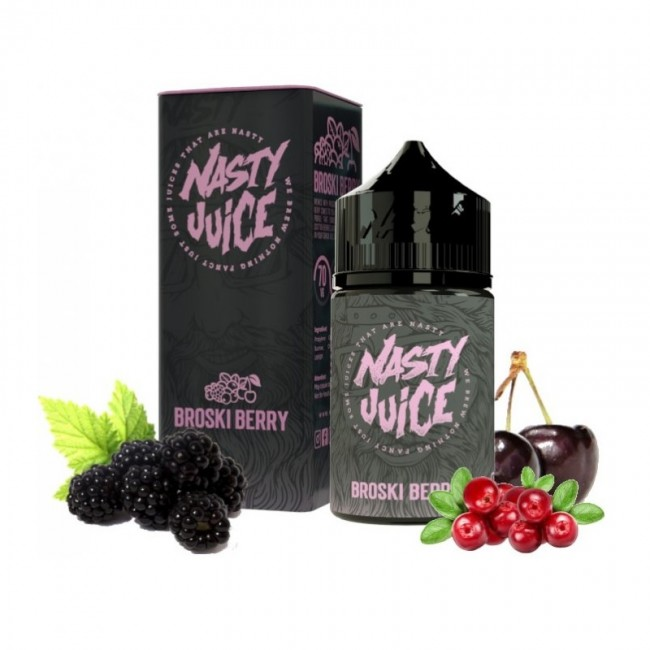 obrázek Nasty Juice - Broski Berry
