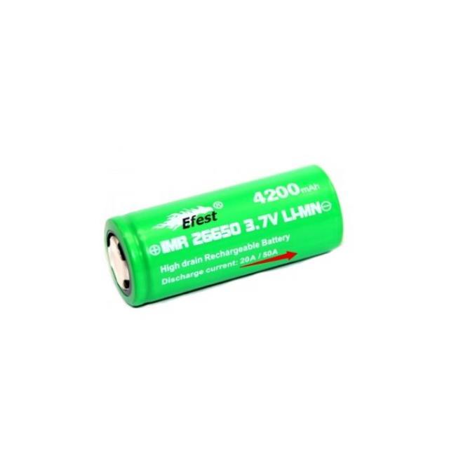 obrázek Efest baterie typ 26650 4200mAh 50A